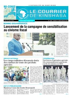 Les Dépêches de Brazzaville : Édition brazzaville du 14 septembre 2021
