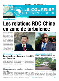 Les Dépêches de Brazzaville : Édition brazzaville du 17 septembre 2021