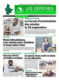 Les Dépêches de Brazzaville : Édition du 6e jour du 25 septembre 2021