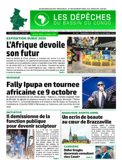 Les Dépêches de Brazzaville : Édition du 6e jour du 09 octobre 2021