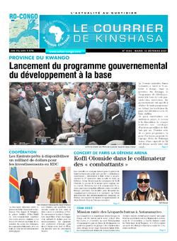 Les Dépêches de Brazzaville : Édition brazzaville du 12 octobre 2021