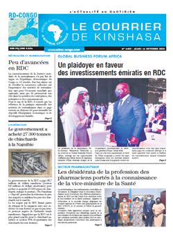 Les Dépêches de Brazzaville : Édition brazzaville du 18 octobre 2021